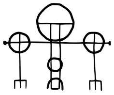 Símbolos mágicos de Islandia - Rosahringur minni: Círculo de protección menor.