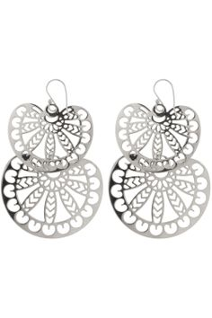 rhese gorgeous #ornate #earrings are intricately crafted from stainless steel I NEWONE-SHOP.COM