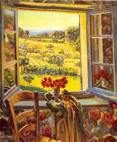 Duncan Grant, Window - South of France, 1928