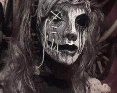 "Deluxe Halloween kostuum Latex masker ""Holle Girl"""