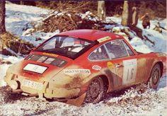 RAC 1970 - Waldegård Björn - Helmér Lars icon Porsche 911 S