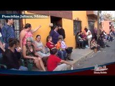 Esperando peregrinacion ultimo dia Fiesta Poncitlan 2015