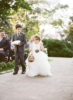 flower girl & ring bearer |  Photography: Brooke Boling - www.brookebolingweddings.com/