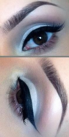 Gorgeous and could easily do with other colors:) - Maquillaje y manicura - Maquillage Makeup Art, Makeup Tips, Beauty Makeup, Hair Makeup, Hair Beauty, Pretty Makeup, Makeup Looks, Mauve Makeup, Best Eyeshadow