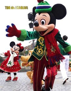 Mickey & Minnie, Christmas in Tokyo Disneyland
