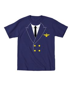 Look at this Navy Pilot Tee - Toddler & Boys on #zulily today!
