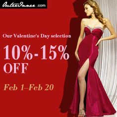 Vanlentine's Day Special Offer till Feb, 20th. at OuterInner.com