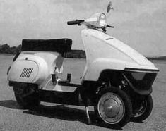 Piaggio Vespa PK tre ruote 3 whells 1984