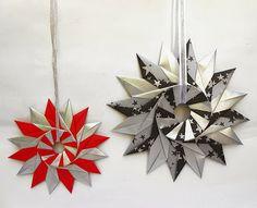 origami - Estrella de 16 puntas de Tomoko Fuse