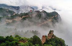 [PHOTO] #Paysage de #Wulaofeng dans le nord de la #Chine — https://link.crwd.fr/2Yob #beforgo #voyage