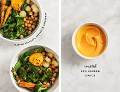 Roasted Broccoli Bowls / loveandlemons.com