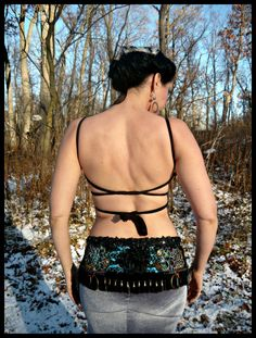 Belt for Tribal Fusion Belly Dance Costume by thegypsykiss on Etsy, $355.00