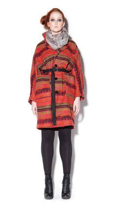 CONNIE - jacket / IINA - scarf /  DAN - belt