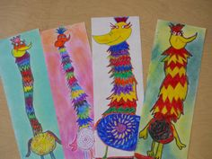 elementary art   The Elementary Art Room!: Dr. Seuss Creations: Tizzled Topped Tufted ...