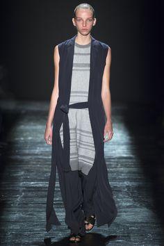 Public School Spring 2016 Ready-to-Wear Fashion Show - Jamilla Hoogenboom