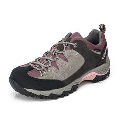 Clorts Women's Hiker Leather Waterproof Hiking Shoe Outdoor Trail Shoes HKL806J ** You can find more details by visiting the image link.