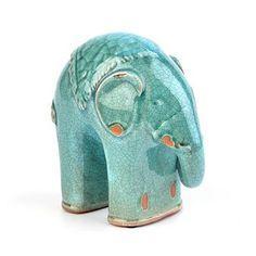 blue elephant figurine #animalinstincts #kirklands