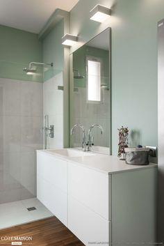 Salle de bain design, Boulogne-Billancourt, Decorexpat