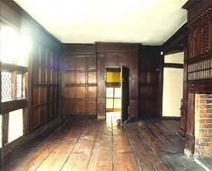 the solar, a sunny greeting room in Churche's Mansion, Nantwich Cheshire