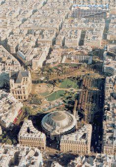 """quartier """"Les Halles"""" à  Paris"""