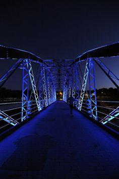 The Blue Bridge - Spain - by Juan Jose Ferres Serrrano