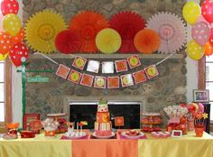 Project Nursery - Cami's Elmo Inspired 2nd Birthday Party