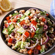 Chickpea Salad Recipes, Vegetarian Recipes, Cooking Recipes, Healthy Recipes, Easy Recipes, Cooking Games, Cooking Food, Beef Recipes, Quinoa Meals