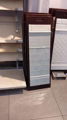 Color Tile, Bathroom Ideas, Entryway Tables, Tiles, Furniture, Home Decor, Room Tiles, Tile, Interior Design