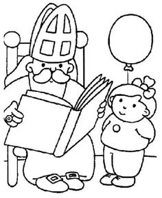 1000 images about maternelle saint nicolas on pinterest - Coloriage de saint nicolas ...