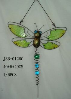 dragonfly crafts | butterfly stained glass craft,home decoration,home crafts,animal gifts ...