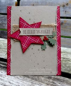IC577 Plaid Christmas by Weekend Warrior - Cards and Paper Crafts at Splitcoaststampers