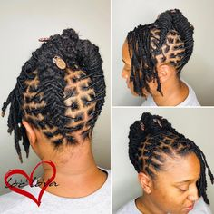 South African Hairstyles For Short Hair Dreads Styles For Women, Short Dread Styles, Short Dreadlocks Styles, Short Locs Hairstyles, Dreadlock Styles, My Hairstyle, African Hairstyles, Latest Hairstyles, Black Hairstyles