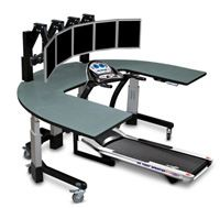 Final Frame The Fitness Code Treadmill desk Desks and Exercises