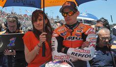 Stoner, con Adriana, su mujer