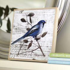 Birch Lane Blue Birds I Framed Print | Birch Lane