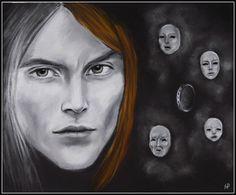 Jaqen H'gar (art by Anastasia Robozeeva)