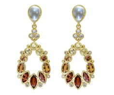 Temple St. Clair 18K Anima Pear Drop Earrings
