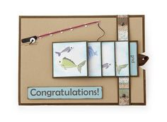 """""""Waterfall Card"""" - an elegant idea that can be customized to any occasion."""