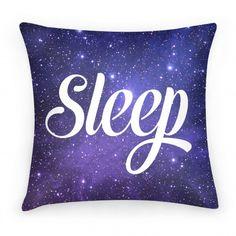 Sleep (Cosmic Pillow) #pillow #sleep #nap #galaxy #space #cosmic #tired