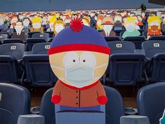 Denver Broncos Game, Go Broncos, South Park Characters, Stan Marsh, Cheer Me Up, Comedy Central, Ship Art, Charity, Cut Outs