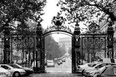 Gate of Parc Monceau, Paris