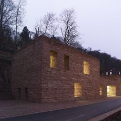 Heidelberg Castle Visitor Centre, by Max Dudler. (nice to see a Dudler project again; hadn't seen one in a while)