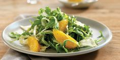 I love crunchy fennel and peppery arugula dressed with a slightly sweet dressing made from Meyer lemons—a fresh-tasting pick-me-up. Meyer lemons are only available in the wintertime, so if you can't find them, use regular lemon juice and replace a third of it with fresh orange juice.