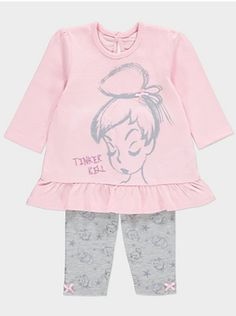 Disney Tinkerbell Top and Leggings Set