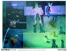 FamousFrames Storyboards, Animatic Artists, Storyboard Artists, Darek Gogol