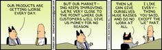 Dilbert comic strip for 10/04/2013 from the official Dilbert comic strips archive.