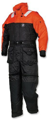 Mustang Survival Deluxe AntiExposure Coverall and Worksuit OrangeBlack Medium *** Click image for more details. This is an Amazon Affiliate links.