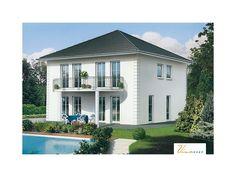Wolkenstein - #Einfamilienhaus von VIVA MASSIVHAUS GmbH | HausXXL #Stadtvilla #klassisch #Walmdach