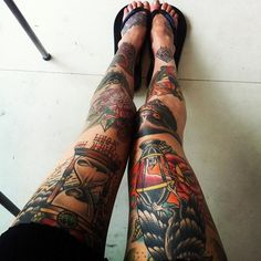 Leg Tattoos #tattoo #ink #inked #tattoo art