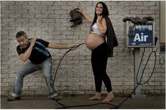 """""""How to Make a Baby"""" photo series by Patrice Laroche - It takes some perseverance  keep pumping... until..."""
